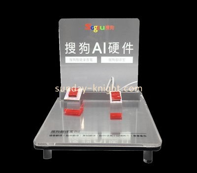Customize lucite free standing retail display ODK-796