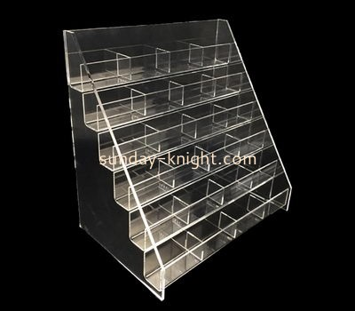 Customize  acrylic tiered display shelves ODK-815