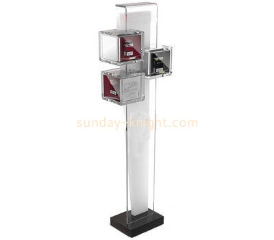 Customize acrylic floor brochure holder BHK-540