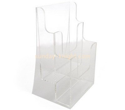 Customize acrylic 2 tier brochure holder BHK-554