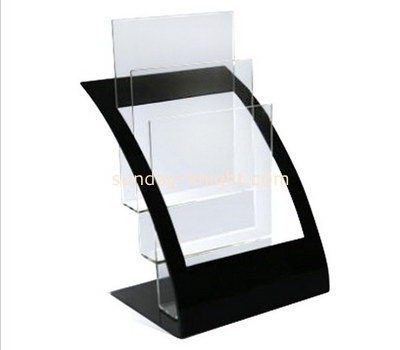 Customize lucite standing brochure holder BHK-553