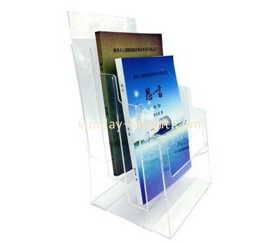 Customize lucite 2 tier brochure holder BHK-557