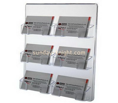 Customize acrylic business card holder BHK-580
