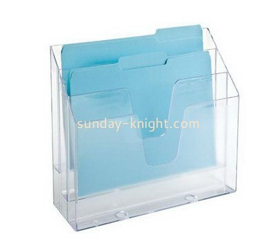 Customize acrylic desk file holder BHK-596