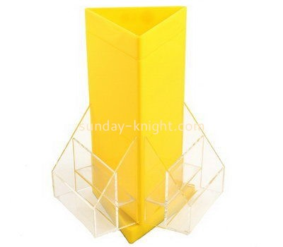 Customize perspex multi pocket brochure holder BHK-599