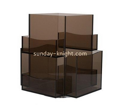 Customize acrylic brochure size literature holder BHK-597
