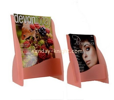 Customize lucite desktop literature holder BHK-603