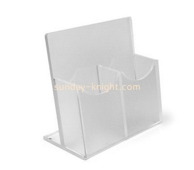 Customize lucite a5 literature holder BHK-609