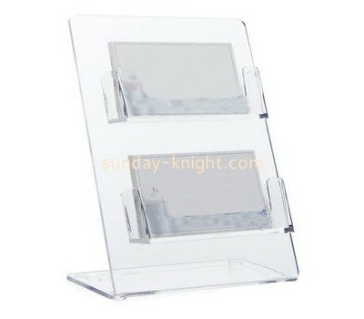 Customize acrylic business card holders BHK-635