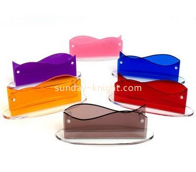 Customize acrylic desktop business card holder BHK-639