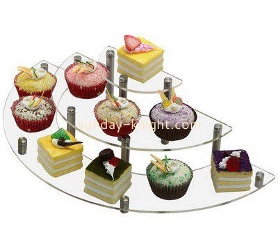 Customize acrylic cupcake stand for wedding display FSK-151