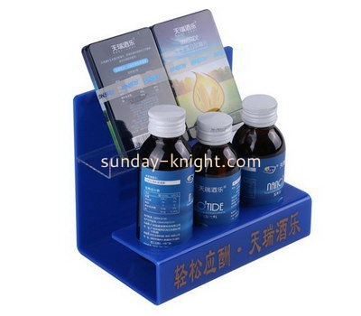 Customize perspex counter display stand FSK-169