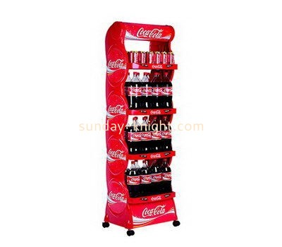 Customize acrylic shop counter display stand FSK-178