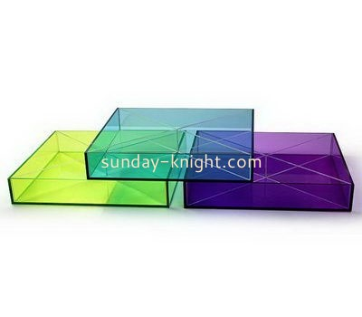 Customize small lucite tray FSK-188