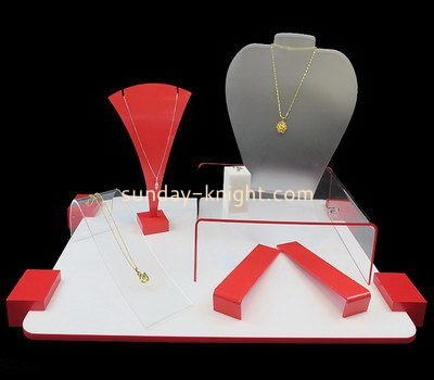 Customize acrylic jewelry display JDK-476