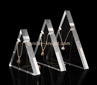 Customize acrylic necklace holder stand JDK-539
