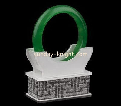 Customize acrylic bangle display stand JDK-540