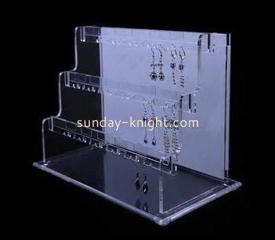 Customize acrylic stud earring display stand JDK-551
