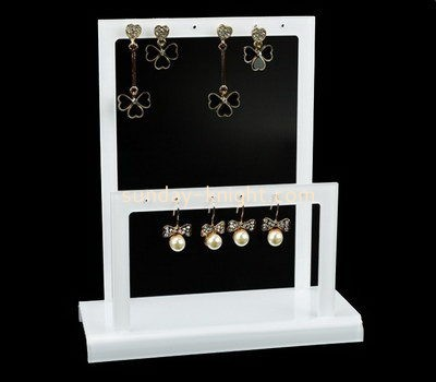 Customize lucite earring displays stands JDK-548