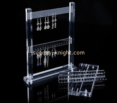 Customize acrylic earring racks for sale JDK-553