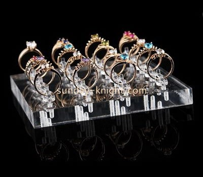 Customize acrylic pretty ring holder JDK-605