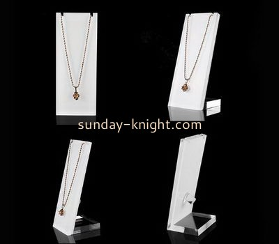 Customize acrylic necklace display JDK-644