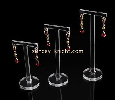 Customize acrylic hoop earring holder JDK-654