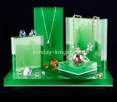 Customize acrylic jewelry stands and displays JDK-665