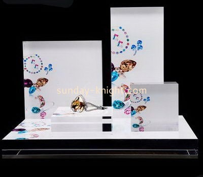 Customize acrylic display stands for jewellery JDK-666