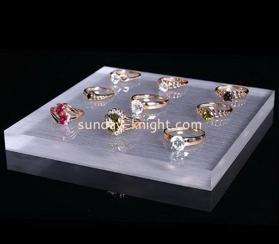 Customize lucite ring holder dish JDK-669