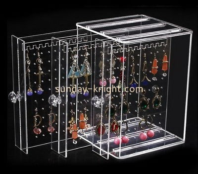 Customize acrylic earring display case JDK-695