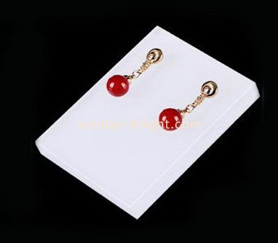 Customize lucite stud earring holder JDK-697