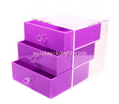 Customize acrylic 3 drawer storage DBK-897