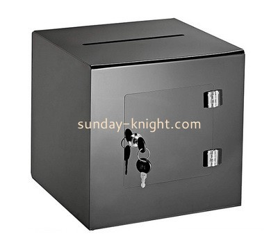 Acrylic suggestion box with key DBK-901