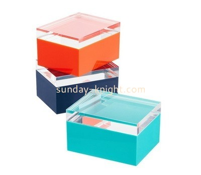 Custom acrylic display box DBK-917