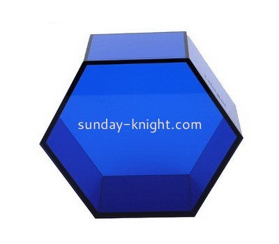 Acrylic hexagon storage box DBK-948