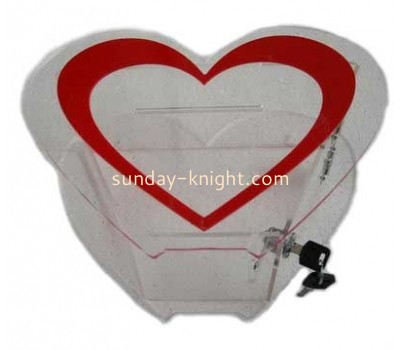 Acrylic charity box DBK-978