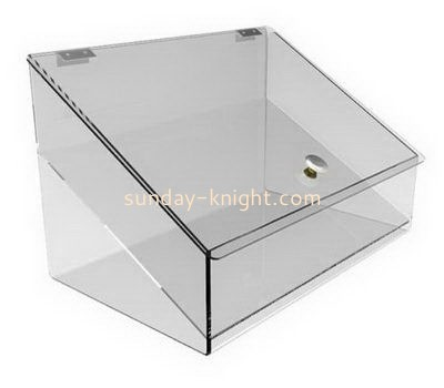 Large clear acrylic box with lid DBK-1010
