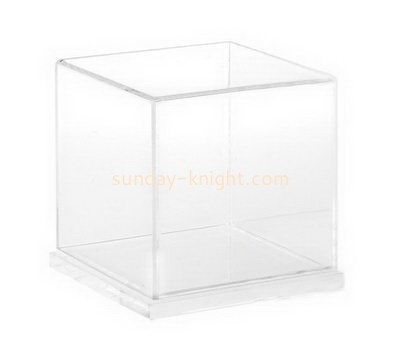 Square clear acrylic display box DBK-1013