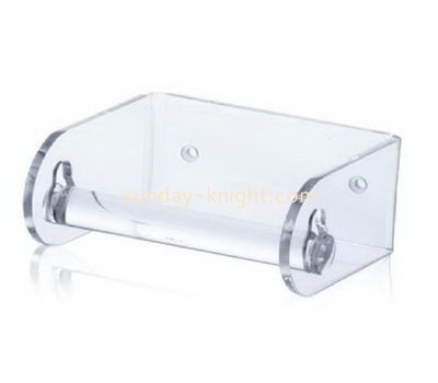 Wall mounted clear acrylic tissue paper holder DBK-1048