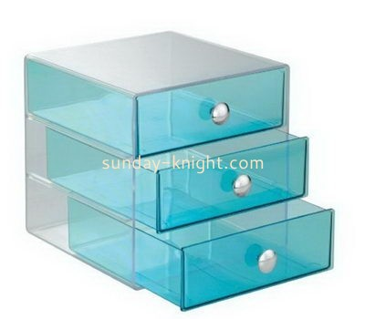Custom acrylic 3 drawers box DBK-1061