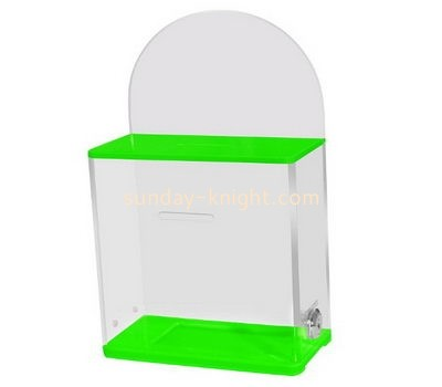 Customize acrylic ballot box DBK-1083