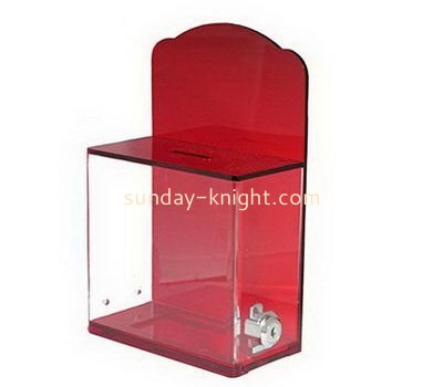 Customize acrylic voting box DBK-1081