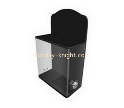 Customize small acrylic voting box DBK-1092
