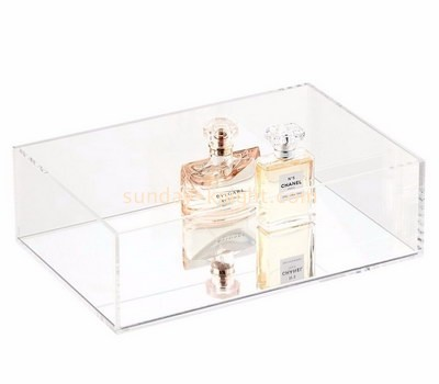 Customize clear acrylic perfume display case DBK-1133