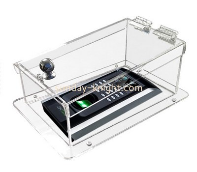 Customize clear acrylic visual intercom protector box DBK-1145