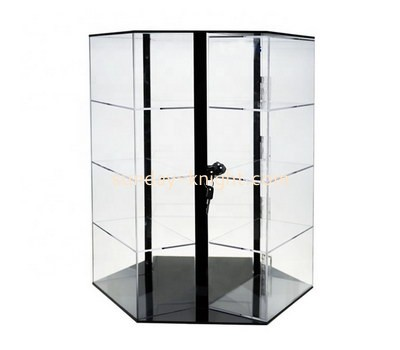 Custom rotating acrylic display cabinet DBK-1149