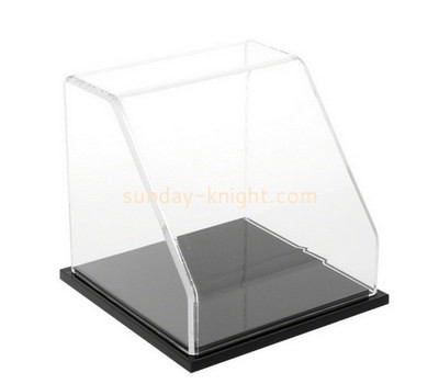 Custom slant front acrylic display case DBK-1150