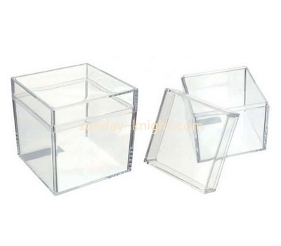 Custom square acrylic candy box DBK-1187
