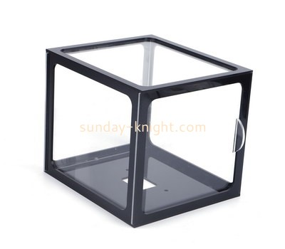 Custom square acrylic frame box DBK-1189